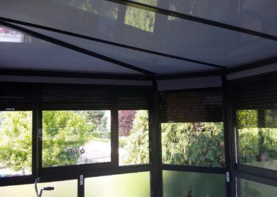 Véranda Aluminium sur balcon Retournac 2
