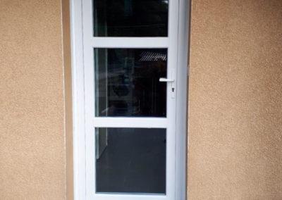 Porte d'entrée PVC Vitrée Chambles