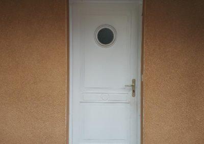 Remplacement porte d'entrée avant